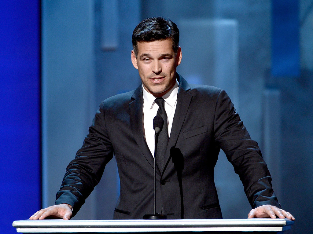 . LOS ANGELES, CA - FEBRUARY 01:  Actor Eddie Cibrian speaks onstage during the 44th NAACP Image Awards at The Shrine Auditorium on February 1, 2013 in Los Angeles, California.  (Photo by Kevin Winter/Getty Images for NAACP Image Awards)