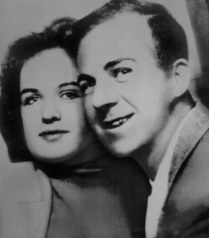 ". Oswald and his wife, Marina, had this photo taken at a Dallas bus station photo booth in 1962. Marina later said that although her life with Oswald was difficult, they remained together because, ""We were so dependent on each other.\"" Associated Press file"
