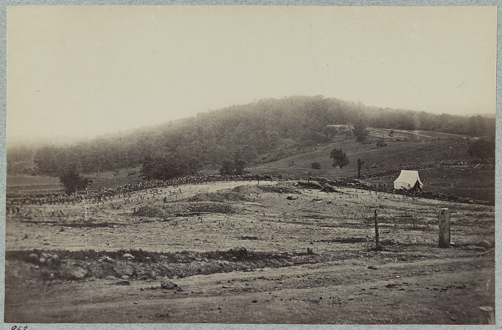 . Battle-field of Gettysburg. Culp\'s Hill  - Library of Congress Prints and Photographs Division Washington, D.C.