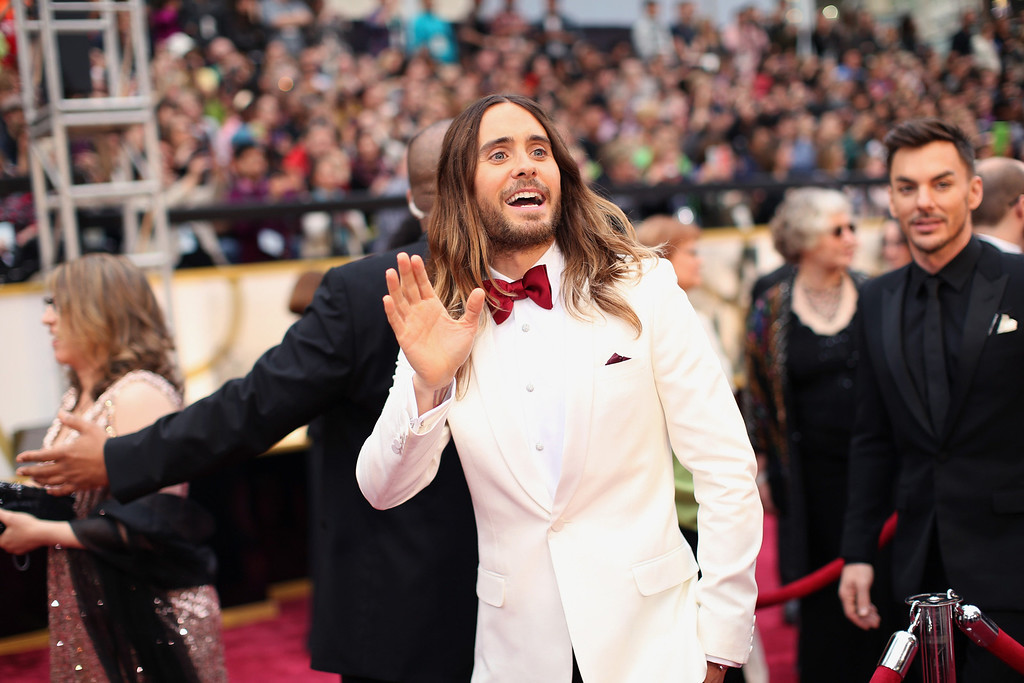 . Actor Jared Leto attends the Oscars held at Hollywood & Highland Center on March 2, 2014 in Hollywood, California.  (Photo by Christopher Polk/Getty Images)