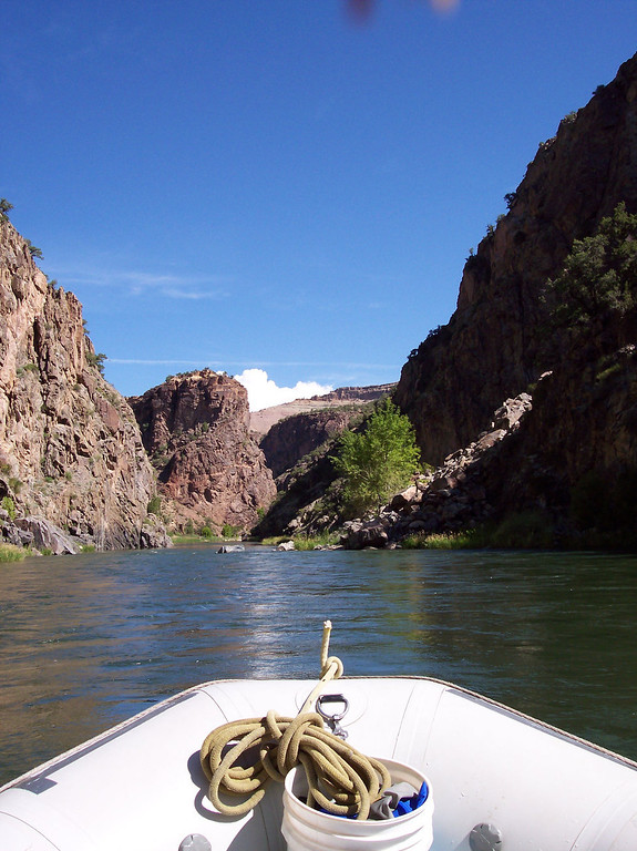 . The \'Gunny\' is  a scenic smorgasbord, a two-day, 14-mile journey with Gold Medal-rated fishing and stunning scenery.  (Provided by Colorado River Outfitters Association)