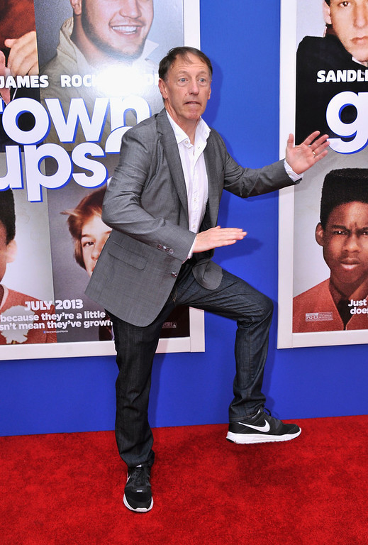 ". Director Dennis Dugan attends the ""Grown Ups 2\"" New York Premiere at AMC Lincoln Square Theater on July 10, 2013 in New York City.  (Photo by Stephen Lovekin/Getty Images)"