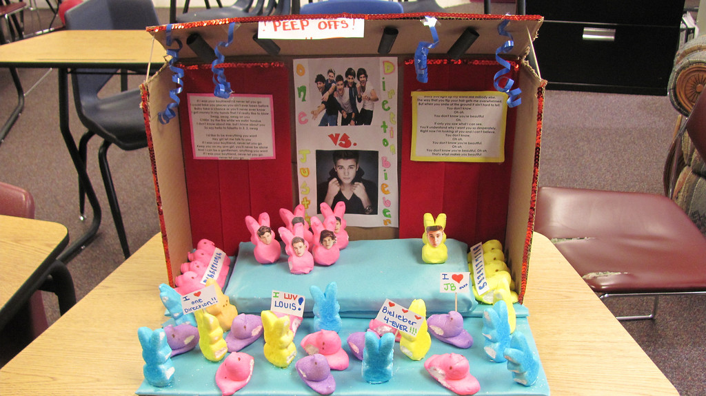 . The Peep Offs- Riley Staples (14), Marika Terrazas (14), Karlie Sorenson (14)                                                                    Windsor Charter Acacademy