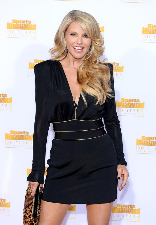 . Model Christie Brinkley attends NBC and Time Inc. celebrate the 50th anniversary of the Sports Illustrated Swimsuit Issue at Dolby Theatre on January 14, 2014 in Hollywood, California.  (Photo by Dimitrios Kambouris/Getty Images)