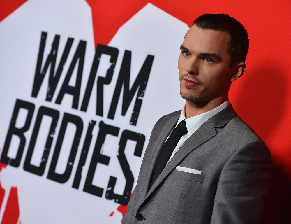 ". Actor Nicholas Hoult arrives at the premiere of Summit Entertainment\'s ""Warm Bodies\"" at ArcLight Cinemas Cinerama Dome on January 29, 2013 in Hollywood, California.  (Photo by Frazer Harrison/Getty Images)"
