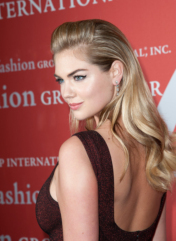 . NEW YORK, NY - OCTOBER 22:  Kate Upton attends the 30th Annual Night Of Stars presented by The Fashion Group International at Cipriani Wall Street on October 22, 2013 in New York City.  (Photo by Dave Kotinsky/Getty Images)