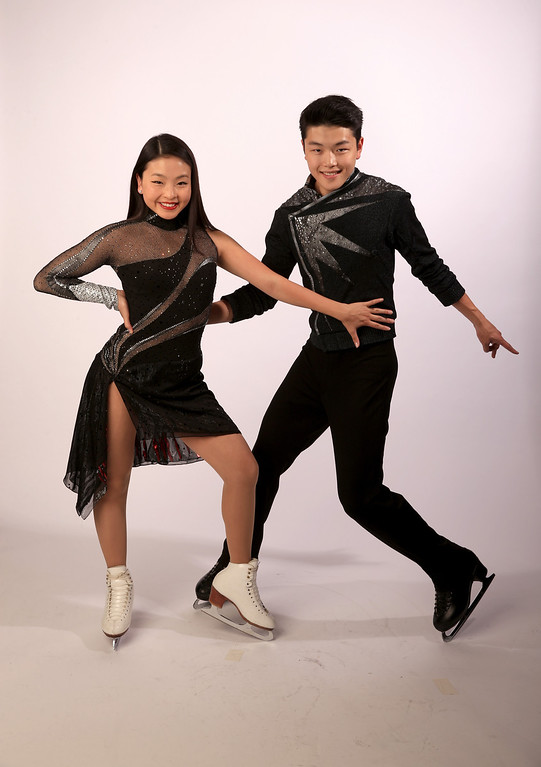 . Ice dancers Maia Shibutani and Alex Shibutani pose for a portrait during the USOC Media Summit ahead of the Sochi 2014 Winter Olympics on October 1, 2013 in Park City, Utah.  (Photo by Doug Pensinger/Getty Images)