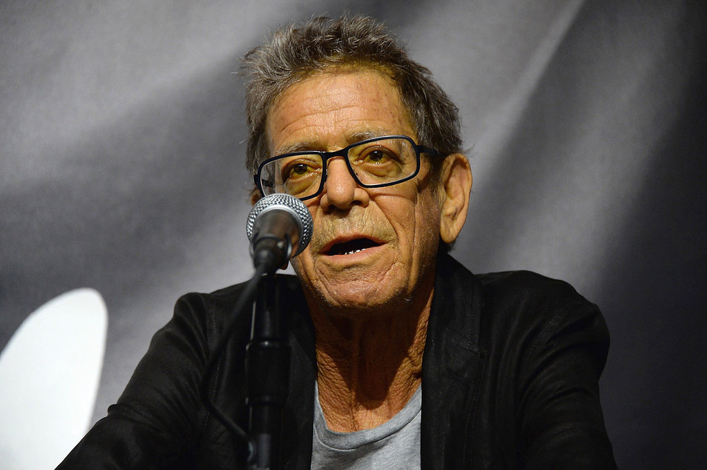 . Lou Reed attends the John Varvatos Presents Transformer By Lou Reed And Mick Rock on October 3, 2013 in New York City.  (Photo by Theo Wargo/Getty Images for John Varvatos)