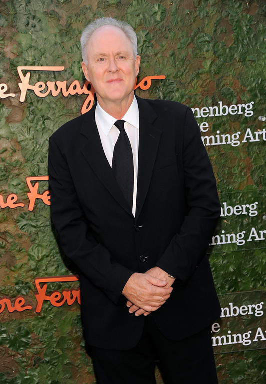 . Actor John Lithgow arrives at the Wallis Annenberg Center for the Performing Arts Inaugural Gala on Thursday, Oct. 17, 2013, in Beverly Hills, Calif. (Photo by Chris Pizzello/Invision/AP)