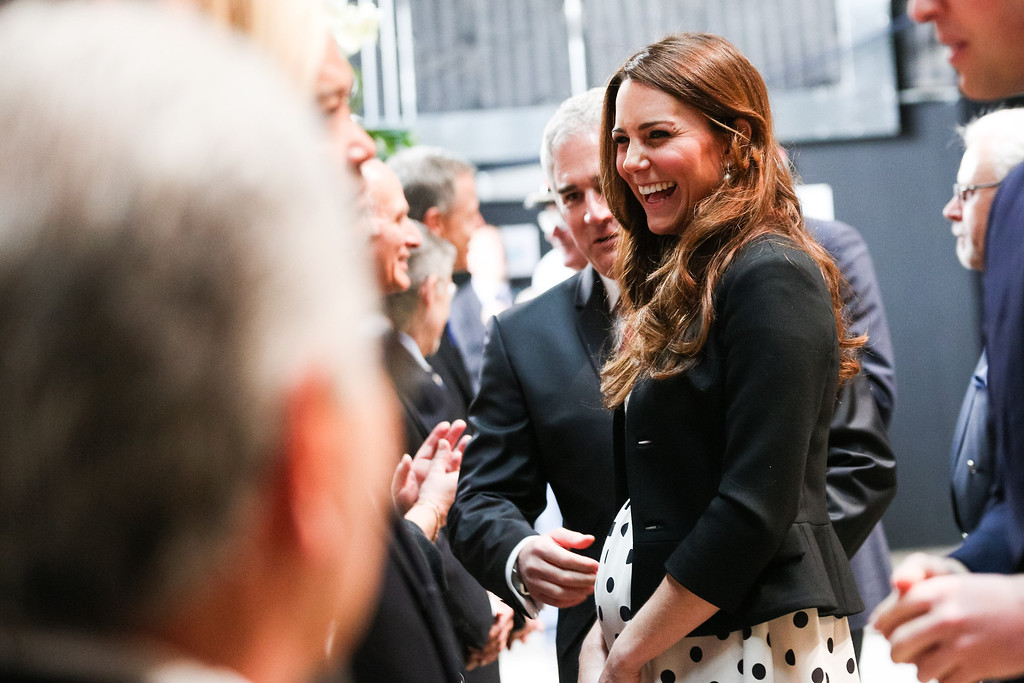 . Catherine, Duchess of Cambridge arrives at the Inauguration Of Warner Bros. Studios Leavesden on April 26, 2013 in London, England.  (Photo by Paul Rogers - WPA Pool/Getty Images)