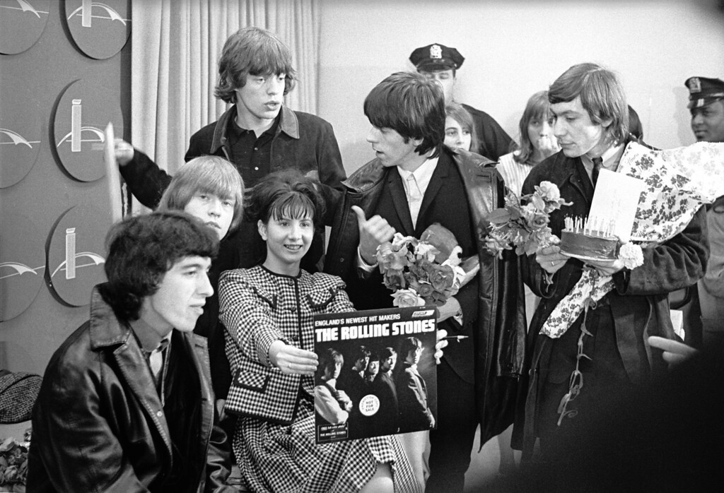 . The Rolling Stones visit the USA, June 1964.  (Photo by William Lovelace/Express/Getty Images)