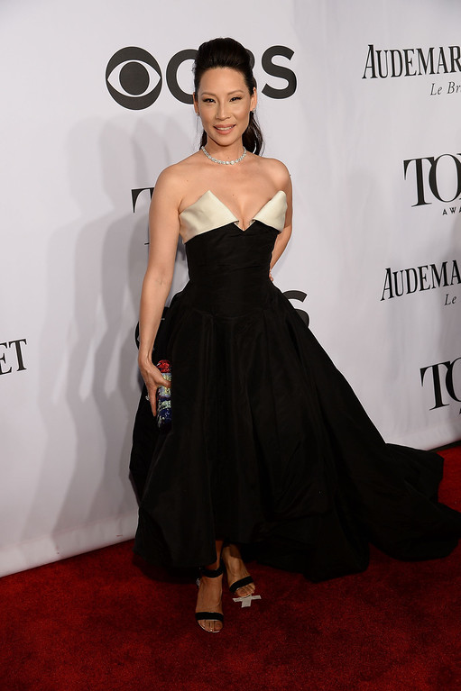 . Actress Lucy Liu attends the 68th Annual Tony Awards at Radio City Music Hall on June 8, 2014 in New York City.  (Photo by Dimitrios Kambouris/Getty Images for Tony Awards Productions)