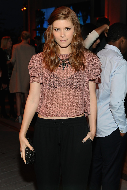 . Actress Kate Mara attends Coach\'s 3rd Annual Evening of Cocktails and Shopping to Benefit the Children\'s Defense Fund hosted by Katie McGrath, J.J. Abrams and Bryan Burk at Bad Robot on April 10, 2013 in Santa Monica, California.  (Photo by Stefanie Keenan/Getty Images for Coach)