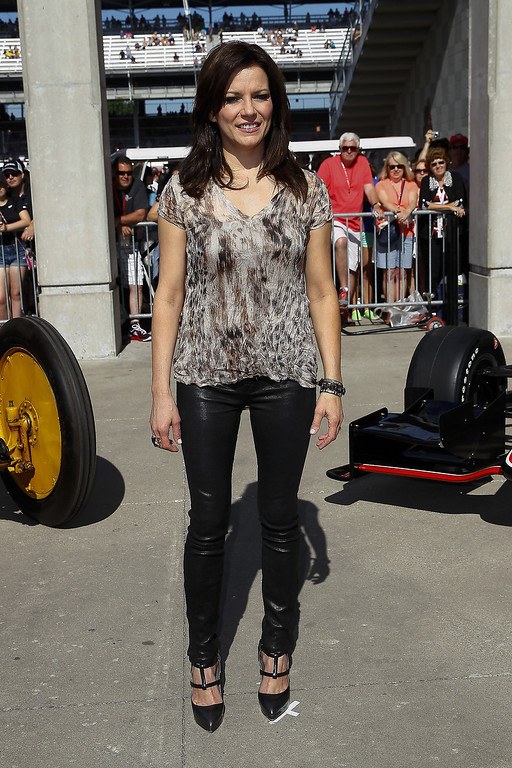 . Martina McBride attends the 2014 Indy 500 at Indianapolis Motorspeedway on May 25, 2014 in Indianapolis, Indiana. (Photo by Michael Hickey/Getty Images)