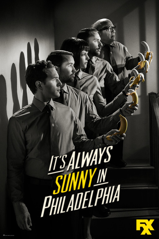. IT\'S ALWAYS SUNNY IN PHILADEPHIA - Season 9 Key Art
