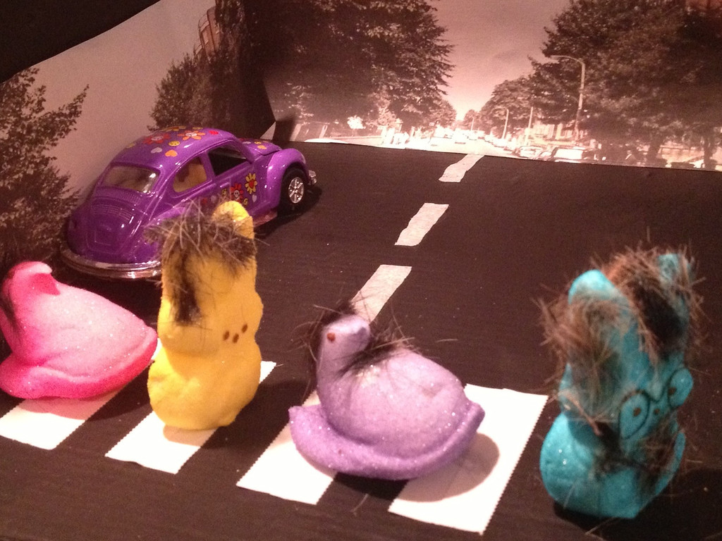 ". ""Peeps Road\"" - Kati Dann & Hallie Denman, both age 16."