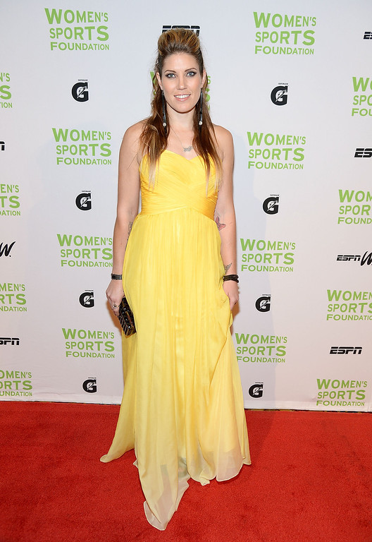 . NEW YORK, NY - OCTOBER 16:  Canadian Motocross National Champion Jolene Van Vugt attends the 34th annual Salute to Women In Sports Awards at Cipriani, Wall Street on October 16, 2013 in New York City.  (Photo by Michael Loccisano/Getty Images for the Women\'s Sports Foundation)