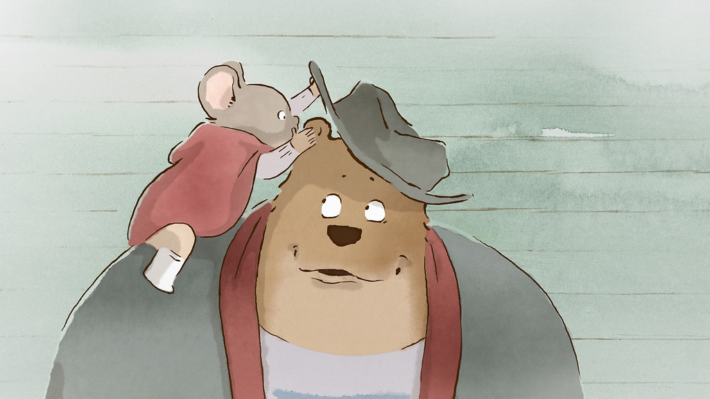 ". 2014 Academy Award Nominee for Best Animated Feature: ""Ernest & Celestine.\"" (Provided by GKIDS Theatrical Department)"