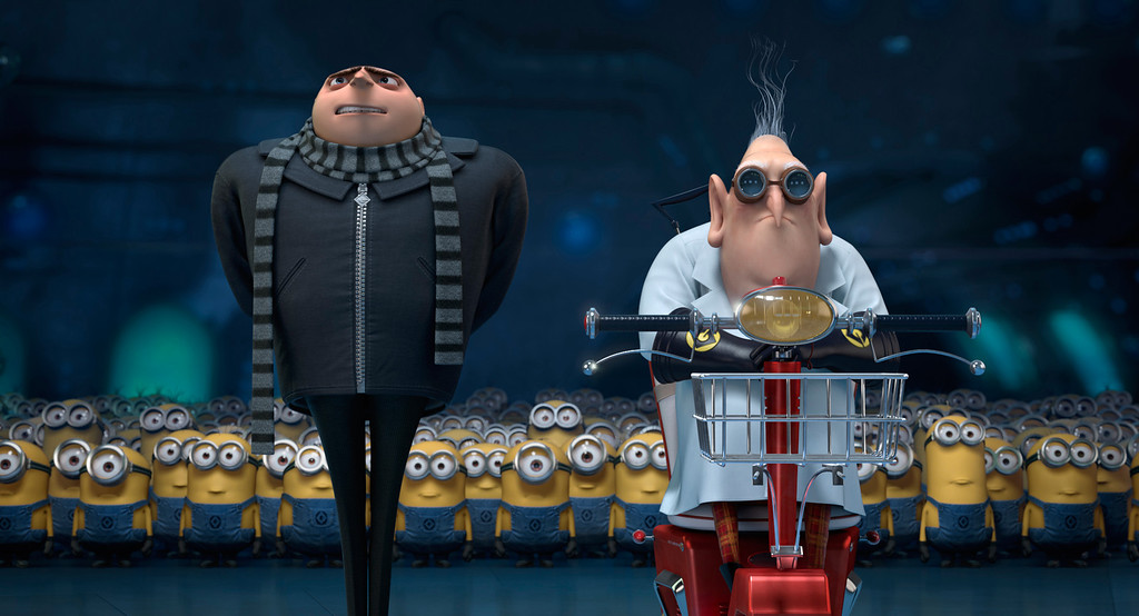 ". 2014 Academy Award Nominee for Best Animated Feature: ""Despicable Me 2.\"""