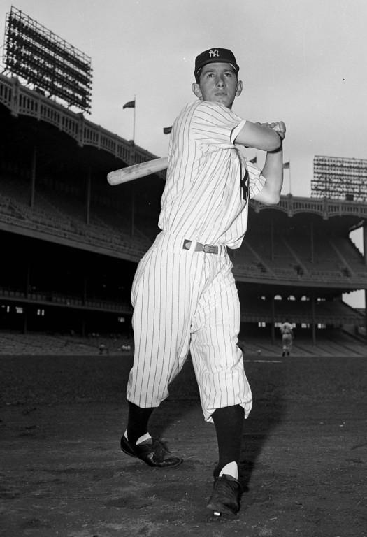 . New York Yankees\' second baseman Billy Martin is seen, June 30, 1951. (AP Photo)