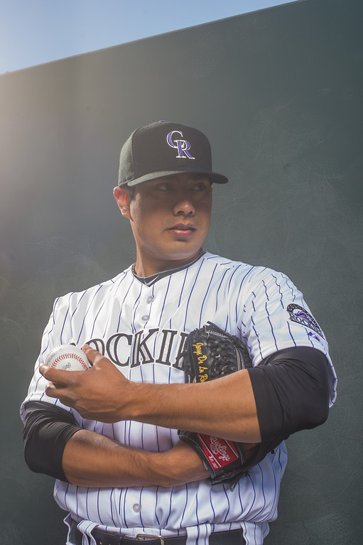 . 29 Jorge De La Rosa Position: LHP Height: 6-foot-1 Weight: 215 pounds Expectations: De La Rosa, this year�s opening-day starter, is the most accomplished pitcher on the staff. He has all-star stuff. For the Rockies to be competitive, they need a repeat season from De La Rosa.   2014 salary: $11 million (Photo by Rob Tringali/Getty Images)