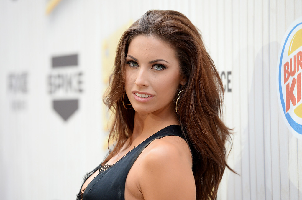 """. CULVER CITY, CA - JUNE 08:  Model Katherine Webb attends Spike TV\'s \""""Guys Choice 2013\"""" at Sony Pictures Studios on June 8, 2013 in Culver City, California.  (Photo by Jason Merritt/Getty Images for Spike TV)"""