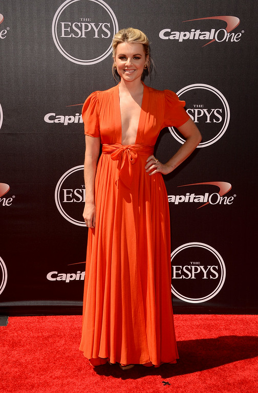 . LOS ANGELES, CA - JULY 16:  TV personality Ali Fedotowsky attends The 2014 ESPYS at Nokia Theatre L.A. Live on July 16, 2014 in Los Angeles, California.  (Photo by Jason Merritt/Getty Images)