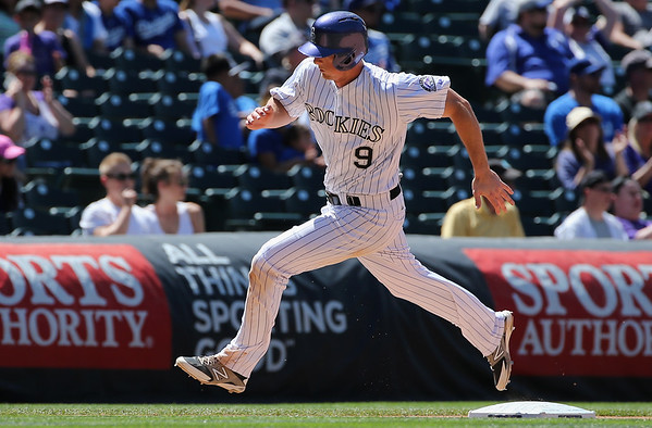PHOTOS: Colorado Rockies split double header with LA Dodgers, June 2