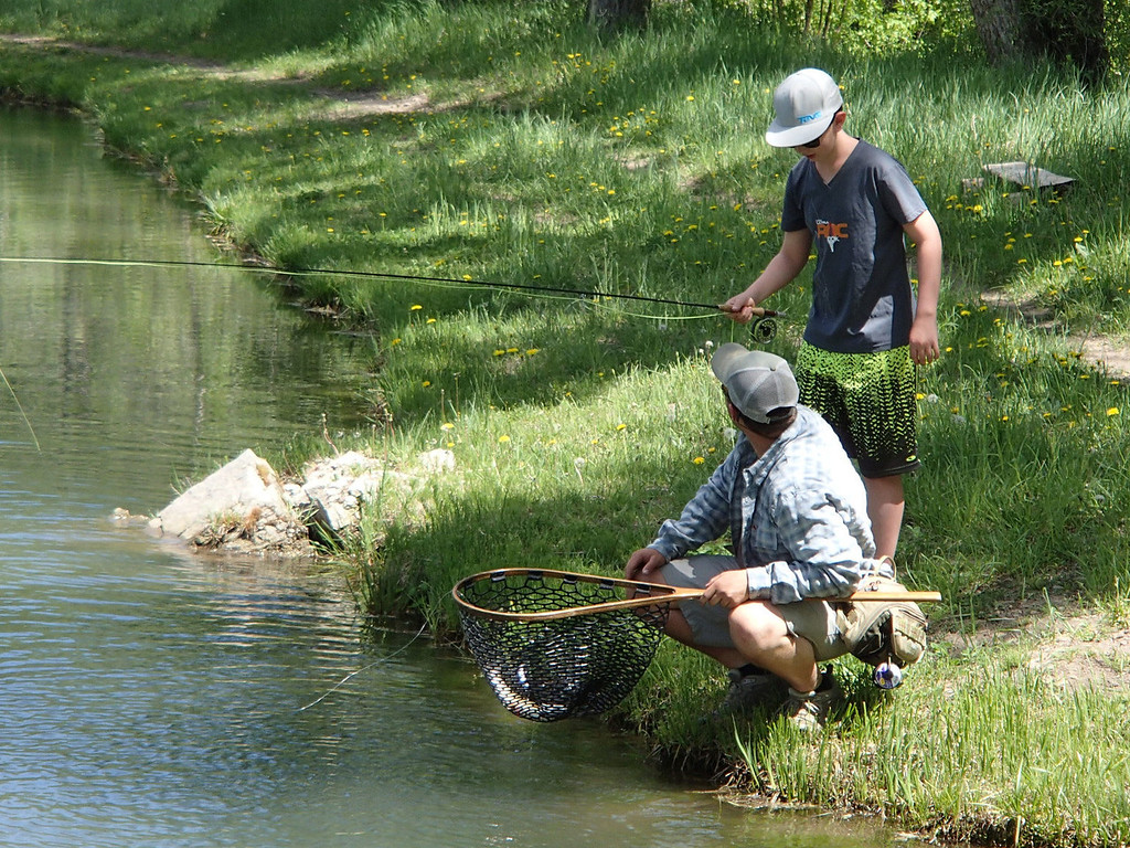 . Fly-fishing -- the Smith Fork River or the nearby Gunnison -- is among of the many activities available at Smith Fork Ranch near Crawford.  Photo provided by Kara Williams
