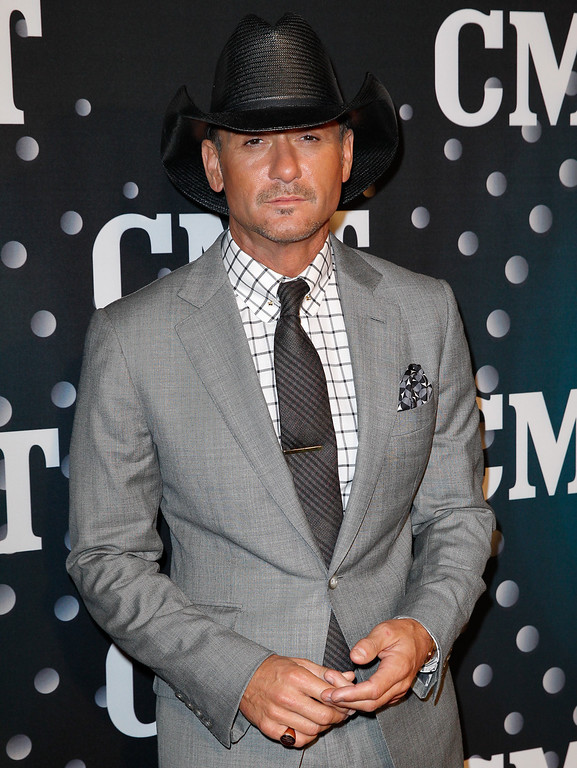 . Tim McGraw attends CMT Artists Of The Year 2013 on December 3, 2013 in Nashville, Tennessee.  (Photo by Terry Wyatt/Getty Images)