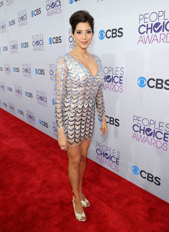 . Actress Viviana Vigil attends the 34th Annual People\'s Choice Awards at Nokia Theatre L.A. Live on January 9, 2013 in Los Angeles, California.  (Photo by Michael Buckner/Getty Images for PCA)