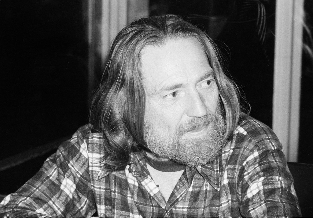 . Country and western singer Willie Nelson is shown at a party celebrating a new album at the Rainbow Room in New York City, Jan. 16, 1978.  (AP Photo)