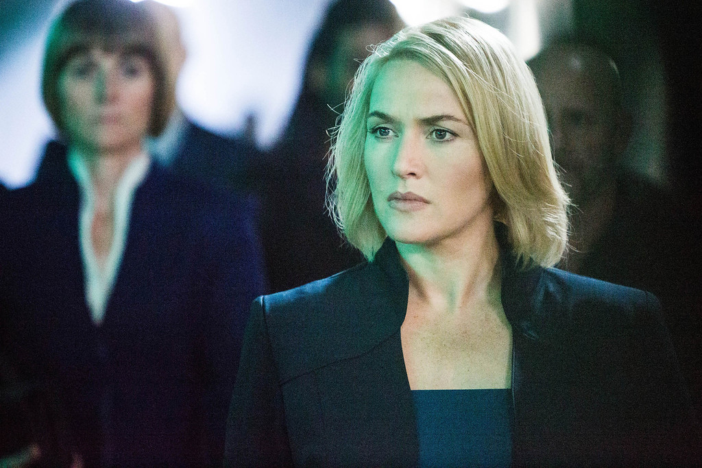 ". This image released by Summit Entertainment shows Kate Winslet in a scene from ""Divergent.\"" (AP Photo/Summit Entertainment, Jaap Buitendijk)"
