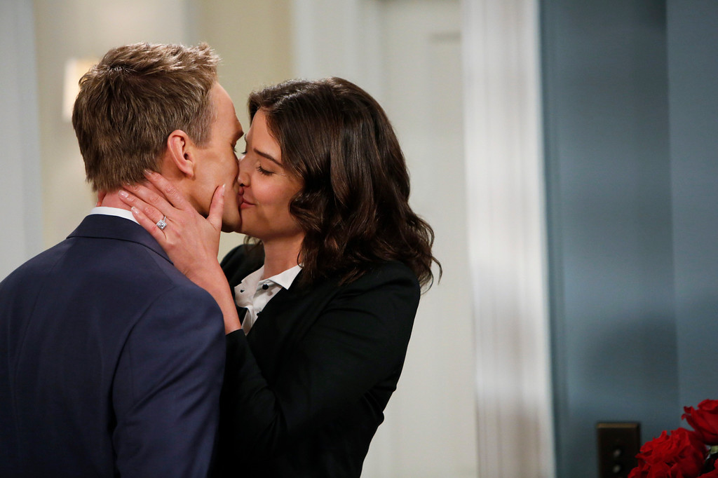 """. \""""Coming Back\"""" -- The wedding weekend is here! Robin (Cobie Smulders) and Barney (Neil Patrick Harris) share a tender moment before the chaos begins. The ninth season of HOW I MET YOUR MOTHER premieres with a special one-hour episode, Monday, Sept. 23 (8:00-9:00 PM, ET/PT) on the CBS Television Network.  Photo: Cliff Lipson/CBS  ���© 2013 CBS Broadcasting, Inc. All Rights Reserved."""