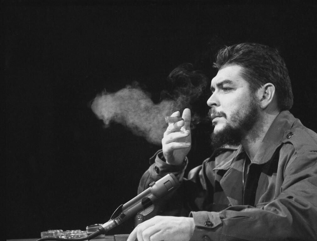 ". Latin American revolutionary Ernesto \""Che\"" Guevara is seen in 1964.  (AP Photo)"