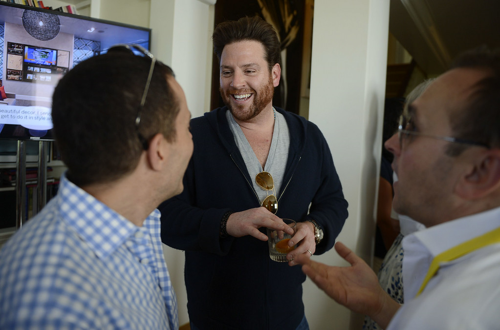. ASPEN, CO - JUNE 20: Chef Scott Conant celebrates The Centurion Lounge by American Express during Food & Wine Classic in Aspen on June 20, 2014 in Aspen, Colorado. (Photo by Riccardo Savi/Getty Images for American Express)