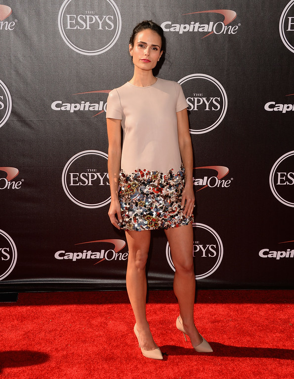 . LOS ANGELES, CA - JULY 16:  Actress Jordana Brewster attends The 2014 ESPYS at Nokia Theatre L.A. Live on July 16, 2014 in Los Angeles, California.  (Photo by Jason Merritt/Getty Images)