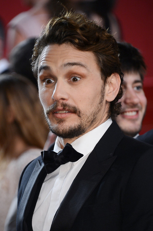 . Director James Franco attends the \'As I Lay Dying\' Premiere during the 66th Annual Camnes Film Festival at the Palais des Festivals on May 20, 2013 in Cannes, France.  (Photo by Ian Gavan/Getty Images)