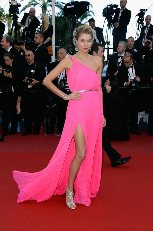 . Jessica Hart attends the \'Behind The Candelabra\' premiere during The 66th Annual Cannes Film Festival at Theatre Lumiere on May 21, 2013 in Cannes, France.  (Photo by Pascal Le Segretain/Getty Images)