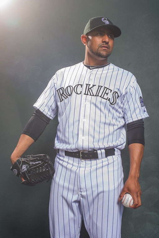 . 56 Franklin Morales Position: LHP Height: 6-0 Weight: 210 Expectations: He returns to the Rockies from Boston as a more accomplished pitcher, but his bouts of wildness, followed by big hits, remains his Achilles� heel. He wants to be a starter, but he could end up in the bullpen.   2014 salary: $1.72 million (Photo by Rob Tringali/Getty Images)