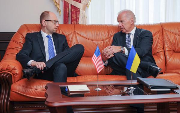 PHOTOS: Vice President Biden visits Ukraine, April 22, 2014