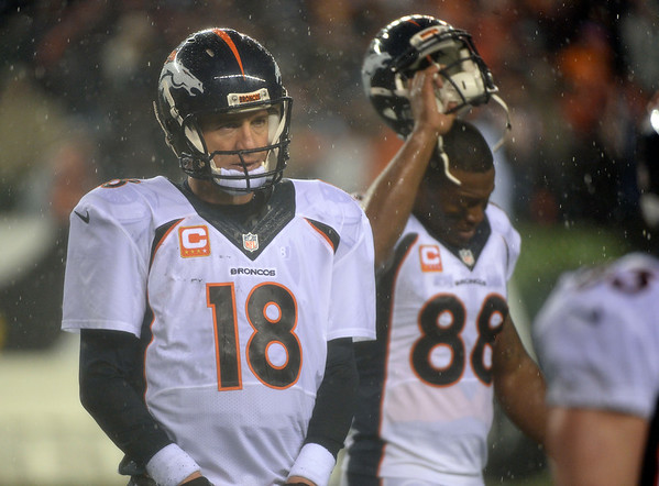 PHOTOS: Denver Broncos vs. Cincinnati Bengals, Dec. 22, 2014