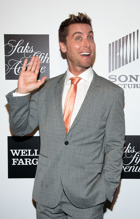 """. Lance Bass arrives at \""""An Evening\"""" Benefiting The L.A. Gay & Lesbian Center at the Beverly Wilshire Four Seasons Hotel on March 21, 2013 in Beverly Hills, California. (Photo by Valerie Macon/Getty Images)"""