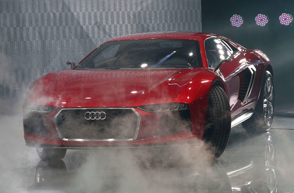 . An Audi Nanuk Quattro concept car is presented during the media day of the IAA (Internationale Automobil Ausstellung) international motor show in Frankfurt am Main, western Germany, on September 10, 2013.     AFP PHOTO / DANIEL ROLAND/AFP/Getty Images
