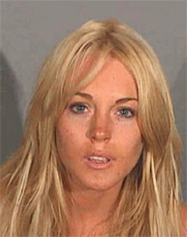 . Lindsay Lohan, seen here in a booking mug released by the Santa Monica Police Department, Santa Monica, Calif., Tuesday, July 24, 2007, was arrested on suspicion of drunken driving early Tuesday, authorities said.   (AP Photo/Santa Monica Police)