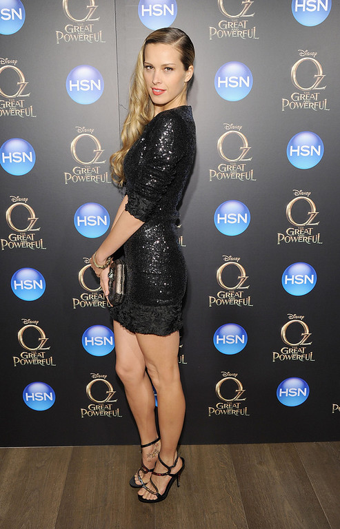 ". Nemcova attends the ""Oz The Great And Powerful\"" VIP screening at the Crosby Street Hotel on March 5, 2013 in New York City.  (Photo by Jamie McCarthy/Getty Images)"