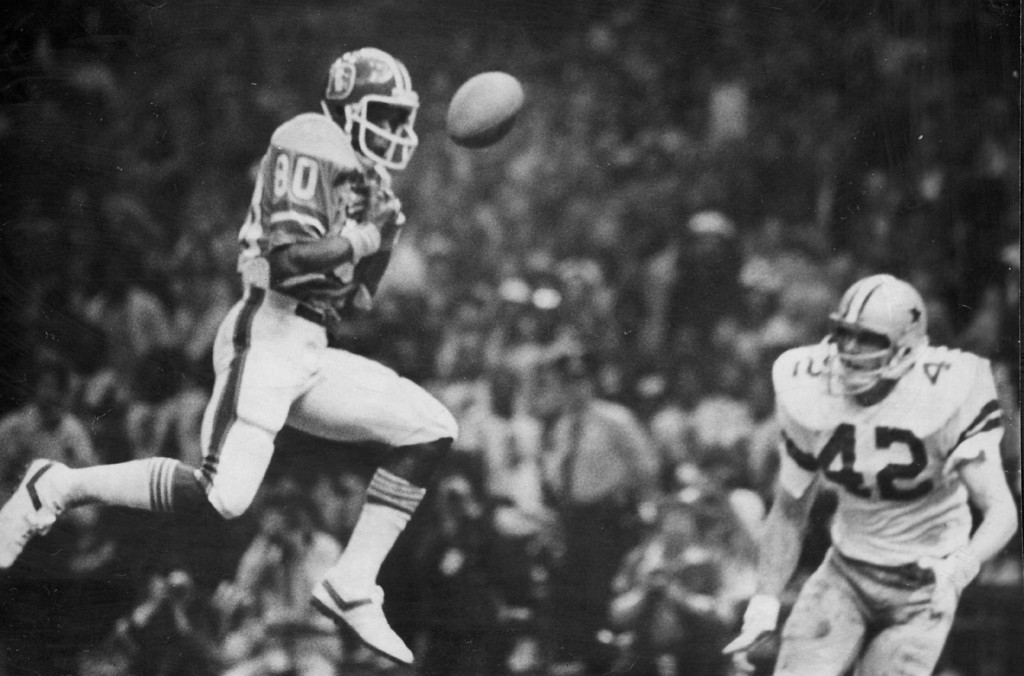 . Denver Broncos take on the Dallas Cowboys in Superbowl XII on January 15, 1978, in New Orleans, Louisiana. (Photo By Kenn Bisio/The Denver Post)