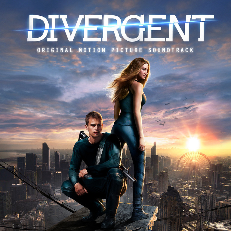". This CD cover image released by Interscope Records shows the motion picture soundtrack for ""Divergent. (AP Photo/Interscope Records)"