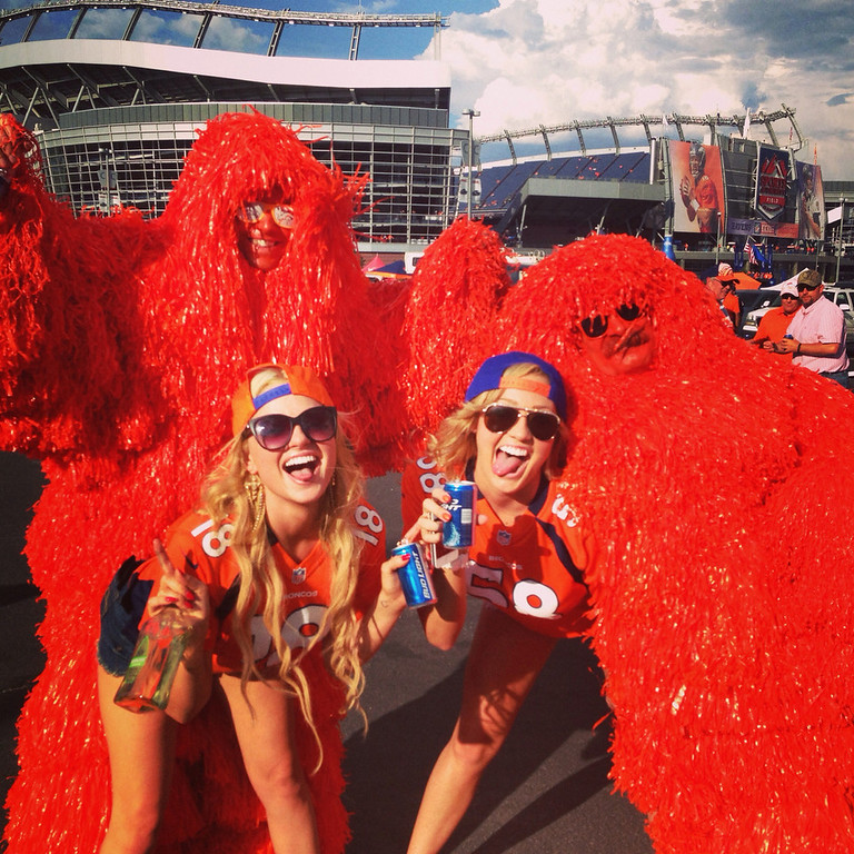 . First game of the season ready to make it to the very last! SUPER BOWL BOUND! (Photo by LA and Breezy)