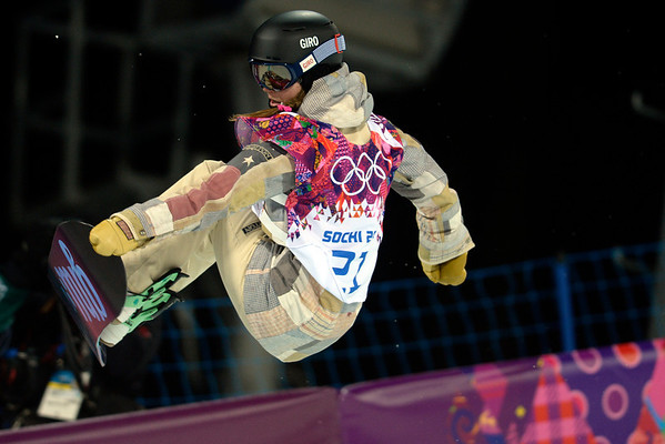 PHOTOS: Women's Snowboard Halfpipe finals at Sochi 2014 Winter Olympics